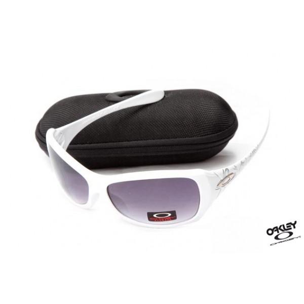 cheap fake oakley necessity sunglasses white mauve iridium foakleys rh sunknockoff com