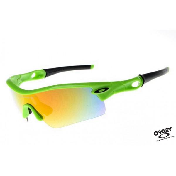658f668c65 Foakleys Radar Path Sunglasses Green   Fire Iridium Replica Oakley ...